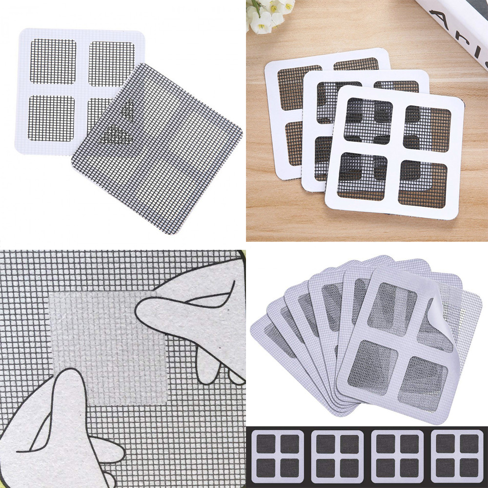 Repair-Screen Stickers Mesh Bug Wall-Patch Insect Anti-Mosquito Home-Adhesive 5-Pack