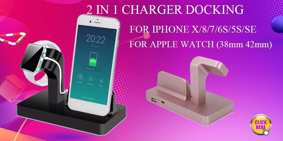 Phone holder iphone x charging apple watch charger