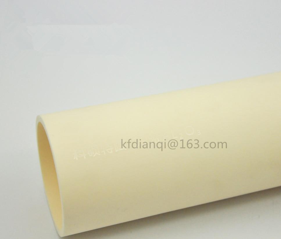 OD * L = 100*1000mm/ 99.5% céramique de haute pureté   Céramique de pointe/Tube de traitement de four réfractaire/une fin ouverte