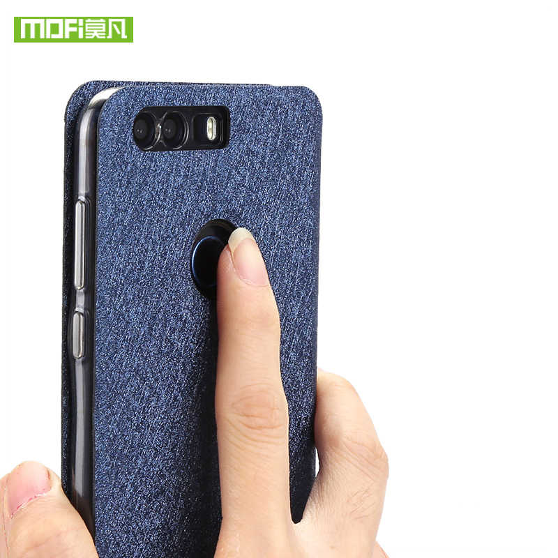 Huawei Honor 8 case cover flip glitter leather mofi Honor 8 case silicone transparent TPU back ultra thin metall cover housing