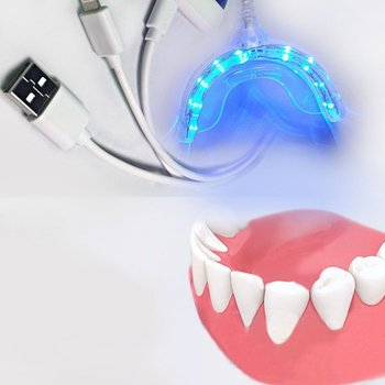Smart LED Teeth Whitening Device 3 USB Ports For Android IOS Dental Bleaching System Tooth Whitening Dropshipping