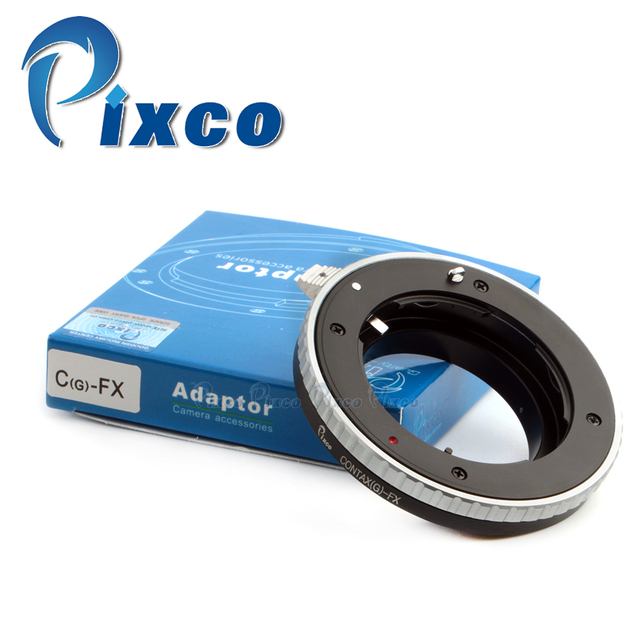 Adaptateur dobjectif pour objectif Contax G CYG adapté à lappareil photo Fujifilm X