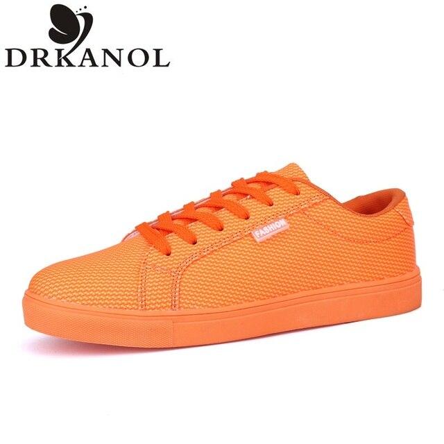2016 Fashion Men Flats Shoes Spring Comfortable Slip Loafers High quality Leisure Men Shoes Zapatos Hombre Size 39-44 DRKANOL