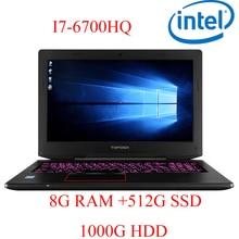 """P6-09 8G DDR4 RAM 512G SSD 1000G HDD i7 6700HQ AMD Radeon RX560 NVIDIA GeForce GTX 1060 4GB 15.6 gaming laptop"""""""
