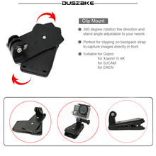 Chest Mount Head Belt For Gopro Accessories 360 Clamp Mount For Eken Chest Harness For Xiaomi Head Strap For Yi 4K Action Camera(China)