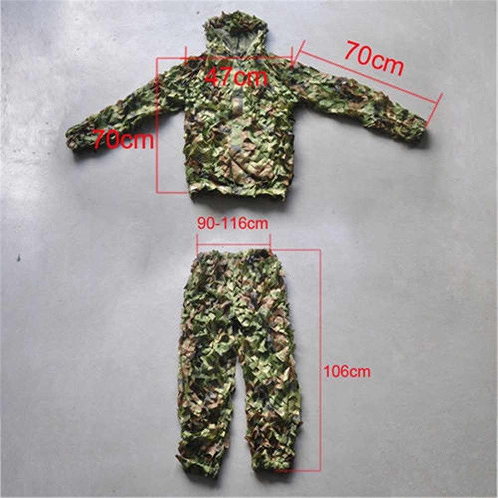 Caccia 3D Foglia di Abbigliamento Mimetico CS Savage Camo Jungle Sniper Ghillie Suit