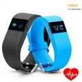 TW64s Heart Rate Monitor Inteligente Pulso Banda Pulsera de Fitness Actividad Rastreador Pulsera para IOS Android Teléfono Móvil pk poco Ajuste