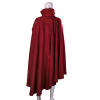 Marvel фильм Доктор Стрэндж костюм плащ халат Косплэй Dr. Steve красный плащ новый костюм