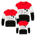 Family Clothing T-shirt  Family Look Cartoon T Shirts Autumn Family Matching Clothes Mother and Daughter Clothes Family T-shirt