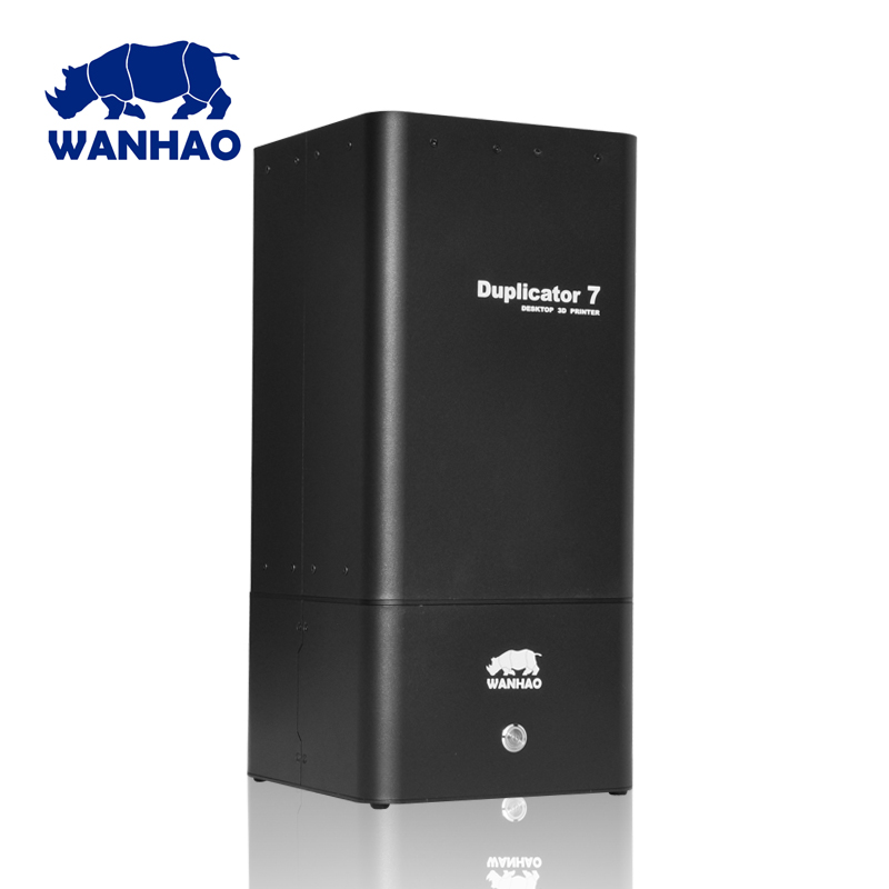 Wanhao duplicator 7 DLP SLA 3d printer with 250ml sample resin as gift high quality model