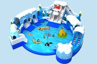 factory price of PVC toys Inflatable Pool portable swimming pool for home use or outdoor ground
