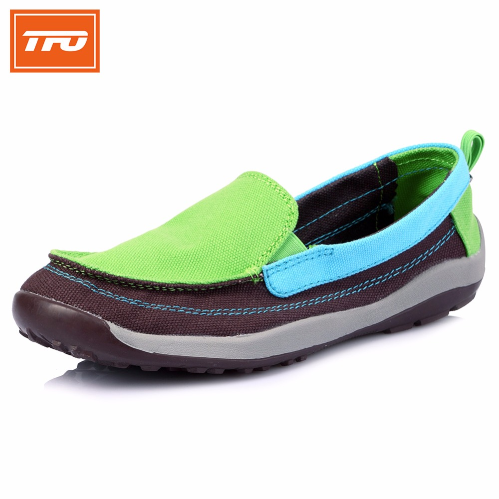 ФОТО TFO Women City Jogging Shoes Breathable Running Shoes Foldaway Summer Sport Shoes Sneakers 8831503D