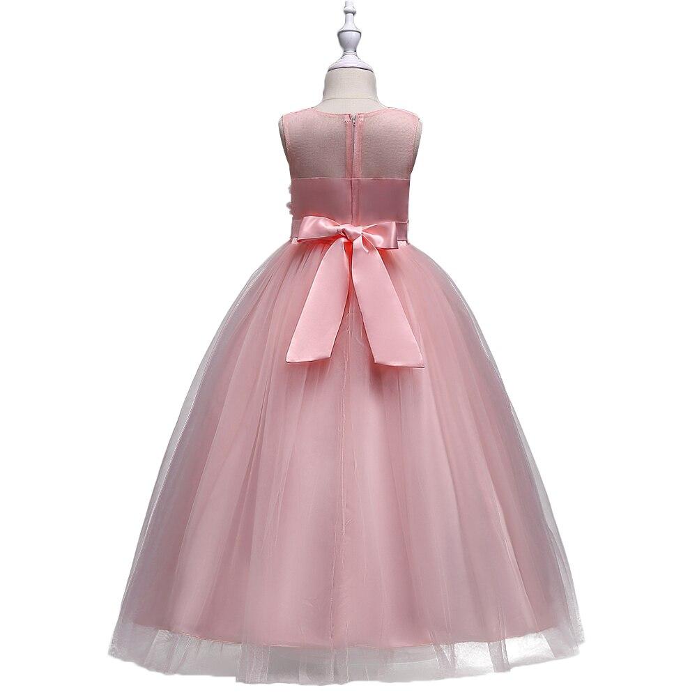 BAOHULU Sommerkleid für Mädchen Jugend Prinzessin Floral Kleider ...