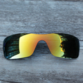 Inew 24K Gold polarized Replacement Lenses for Oakley Batwolf