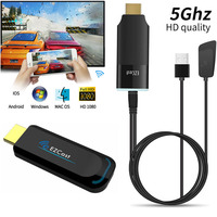 EZCAST 1 2 5G HDMI HDTV Dongle HD Wireless WiFi Miracast Airplay DLNA TV Stick Display Video Adapter for iPhone 11 X iOS Android
