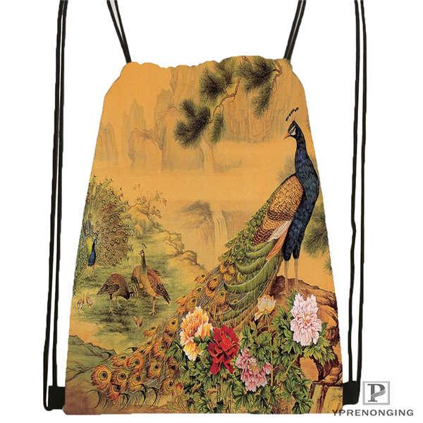 Custom Mariah-carey @01-Drawstring Backpack Bag Cute Daypack Kids Satchel (Black Back) 31x40cm#180611-03-119