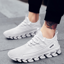 Breathable Fly Weave Mesh Men Sneakers