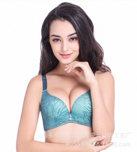 4 Color Women Comfortable Fashion Paisley Sexy Seamless Bra Push Up Adaijustable Wire Free Underwear Intimates Lingerie 9868