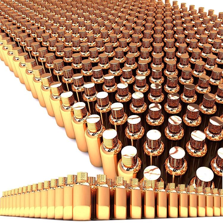 penjualan panas 50 ml mewah botol kaca minyak esensial dengan tutup - Alat perawatan kulit