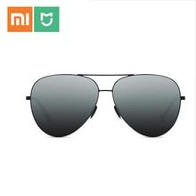 Xiaomi gafas de sol Mijia TS para hombre y mujer, lentes de sol de acero inoxidable polarizadas de nailon, con protección UV400, para viajes al aire libre