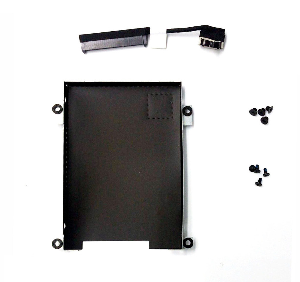 New Hard Drive Disk Cable For Dell Latitude 5480 E5480 HDD Cable 80RK8 +Caddy Frame Bracket 0NDT6 new for dell latitude e5470 hdd hard disk drive interposer connector cable 80rk8