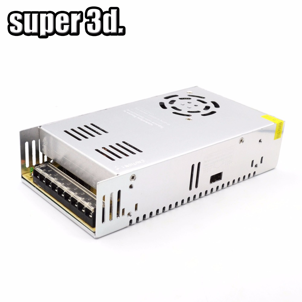 3D Printer Parts  Switching Power Supply AC/DC 12V 30A S-360-12 360W And AC/DC 24V 15A 360W With CE RHS Authentication