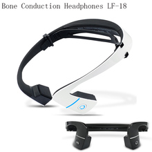 Drop shipping black/white S.Wear LF-18 wireless Bluetooth Hands-free Earphones Neck-strap NFC Bone Conduction headphones stocked