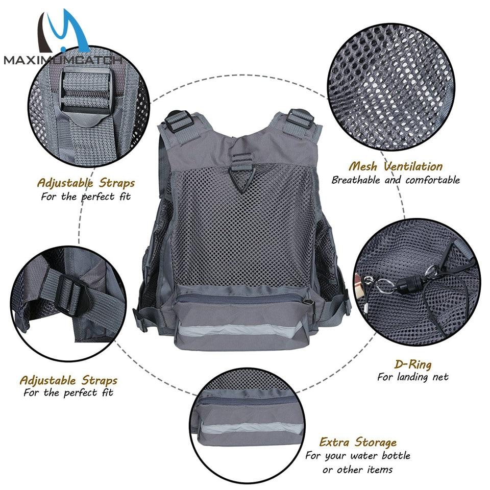 Maximumcatch Fly Balıqçılıq Vest Tənzimlənən Mutil Cib - Balıqçılıq - Fotoqrafiya 3