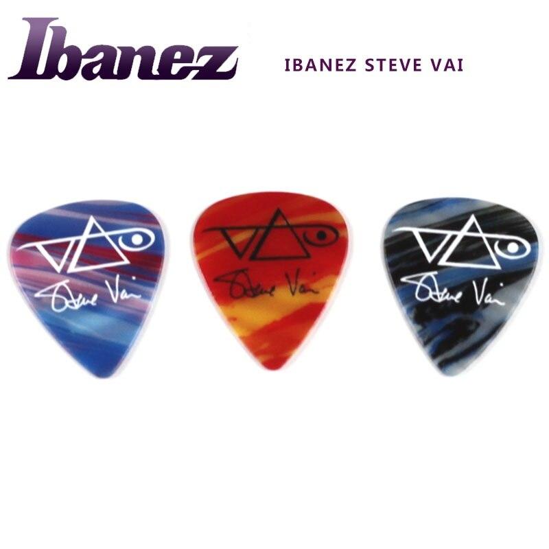 ibanez steve vai 25 anniversary limited edition guitar pick set 1 set of 3 picks in guitar. Black Bedroom Furniture Sets. Home Design Ideas
