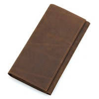 Genuine Leather Wallet Male Coin Purses Pocket Card Holder Slim Wallet for Credit Cards Men Brand Long Pockets