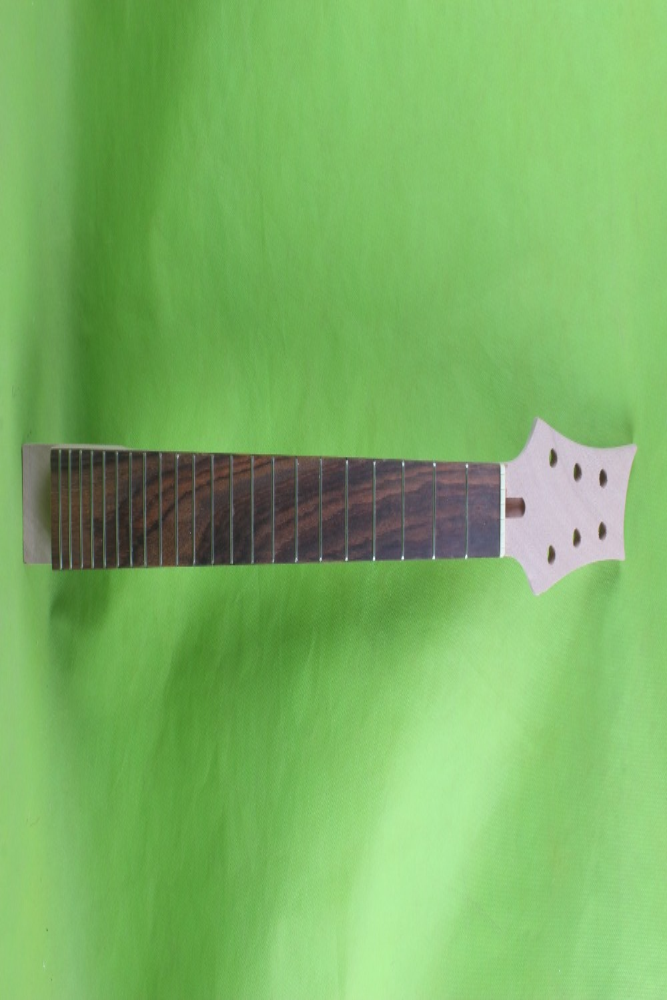1  pcs    25.5  Unfinished electric guitar neck  mahogany   made  rosewood   fingerboard  001# 1 pcs left unfinished electric guitar neck mahogany made maple fingerboard 04