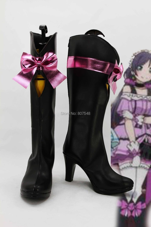 46943bafd2b49 أنيمي كيرا-كيرا الإحساس تأثيري النساء الفتيات lovelive العرف ارتفاع كعب  الأحذية الشحن المجاني