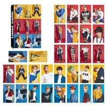 30Pcs/Set KPOP NCT127 NCT U Photo Card Poster Lomo Cards Self Made Paper HD Photocard