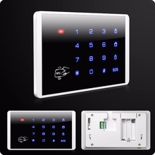 K16 Wireless RFID Touch Keyboard For  Wifi PSTN GSM Home House Alarm System Security System 433MHz