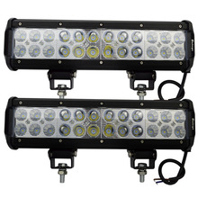 2pcs 12inch 72W LED Light Bar Combo Beam Offroad Light 12V 24V LED Work Lamp For ATV SUV 4WD 4X4 Boating Hunting