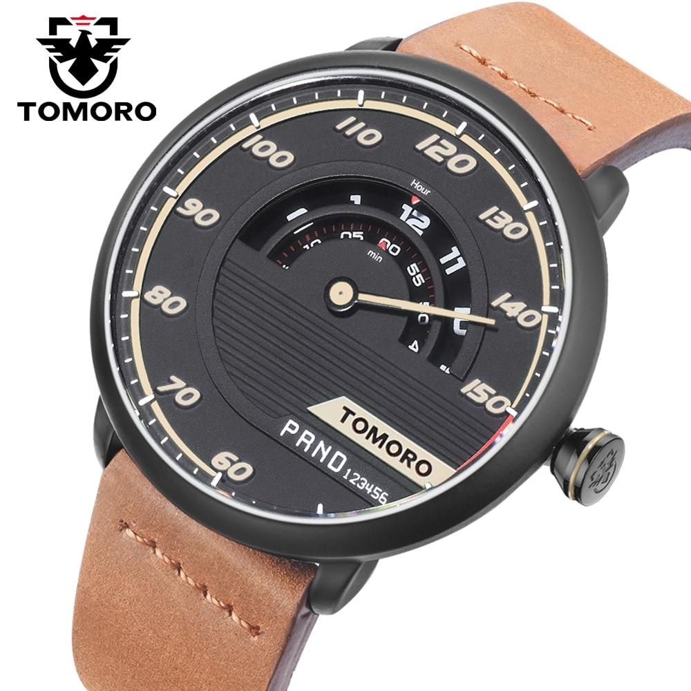 TOMORO Marca Race Diseño Original Hombres de Lujo de Moda Deportiva - Relojes para hombres