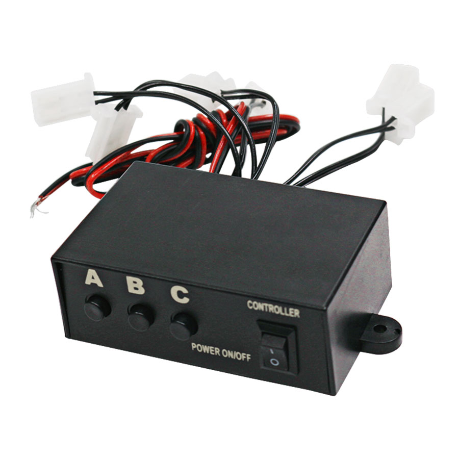 Universal LED Strobe Flash Light Flashing 3 Modes Controller Box for DC12V Car Truck New High Quality image