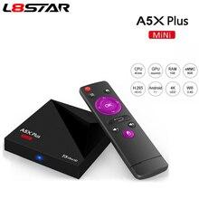 L8STAR A5X Plus mini Smart TV BOX Android 7.1 RK3328 Rockchip 1GB 8GB 2.4G WIFI 100M LAN HD2.0 4K Ultra HD Set Top box IPTV box цена и фото