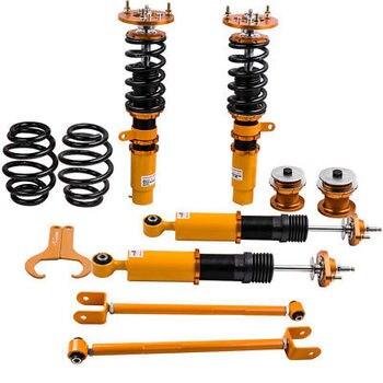 Per BMW E46 M3 Coilover Sospensione bracci di controllo kit per 328 320 M3 Ammortizzatore con Rocker Braccio di Controllo Regolabile serranda