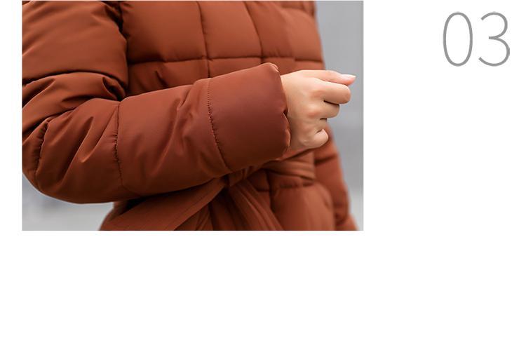 Coat Padded Overcoat Snow 22