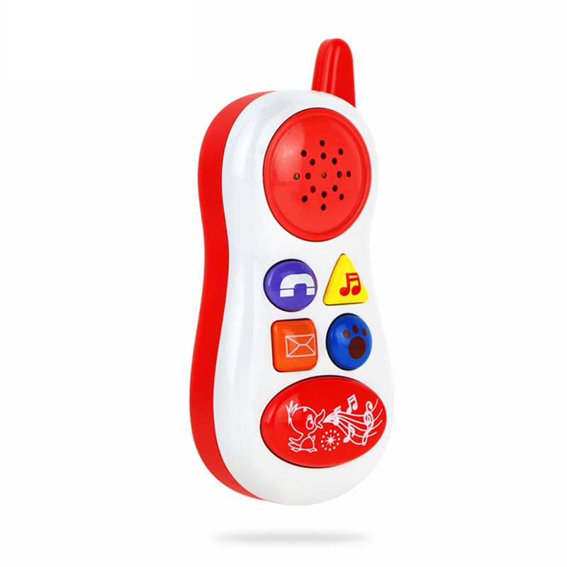 Electronics Musical Box Early Education Enligh Simulation Music Phone Sound Toys Infant Toys Baby Kids Mobile Phone Model