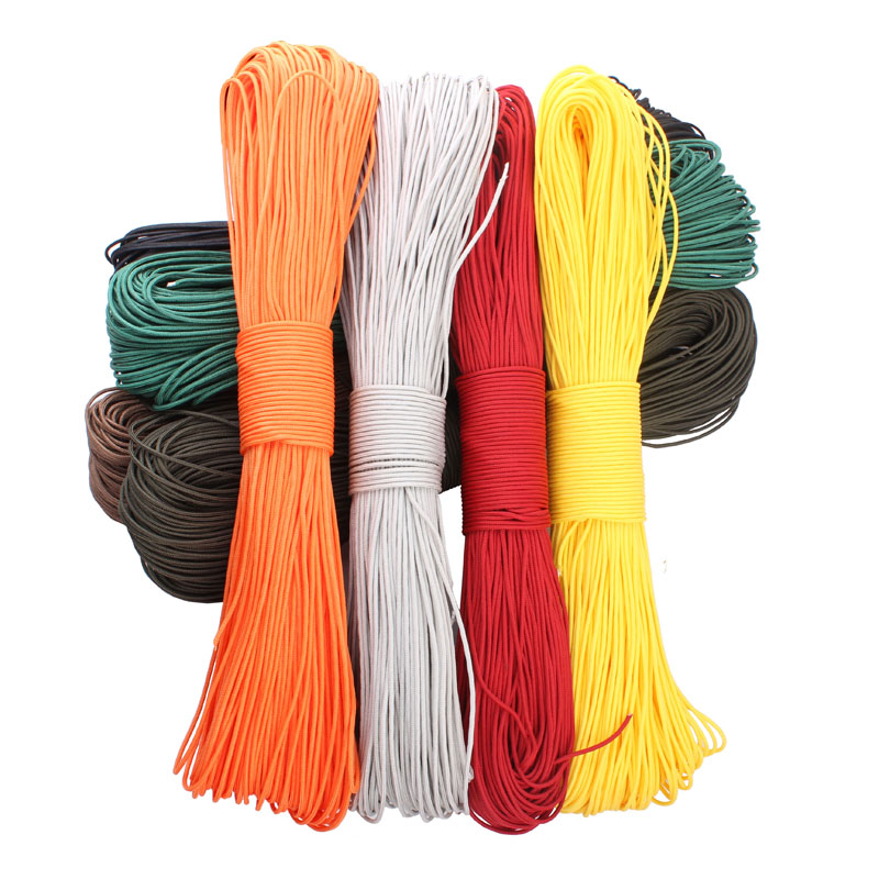 Image 4 - Paracord 2mm one stand Cores Paracord for Survival Parachute Cord Lanyard Camping Climbing Camping Rope Hiking-in Paracord from Sports & Entertainment