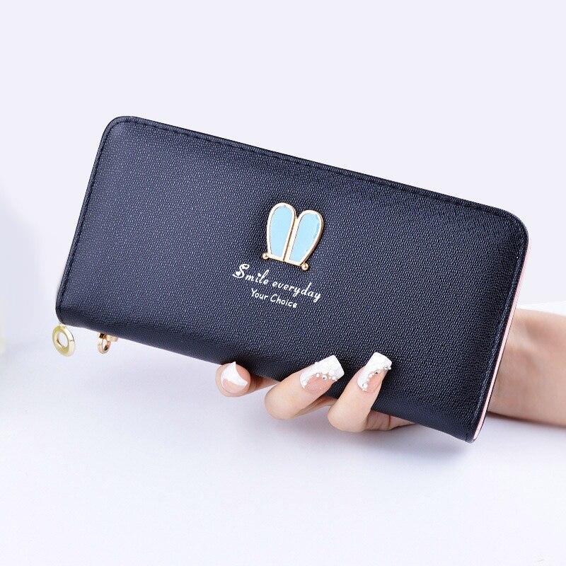 kvinnor väskor handväska märke mode 2018 femme plånbok - Plånböcker - Foto 5