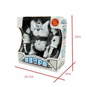 Image 5 - ขนาดใหญ่เด็กซูเปอร์ฮีโร่หุ่นยนต์เดินหุ่นยนต์ไฟฟ้าด้วย Light เพลงของเล่นดนตรีเด็กทารกผู้ใหญ่ Action Figures