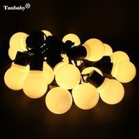 2 5M 5M 10M LED Fairy String Lights 5CM Big Ball LED String Holiday Light Christmas