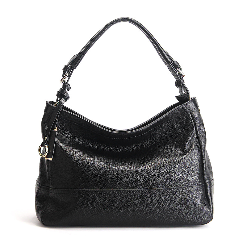 2017 Famous Brand Women Shoulder Bags Genuine Cow Leather Office Ladies Handbags Top Quality New Leisure Female Tote Bag Bolsa chispaulo women genuine leather handbags cowhide patent famous brands designer handbags high quality tote bag bolsa tassel c165