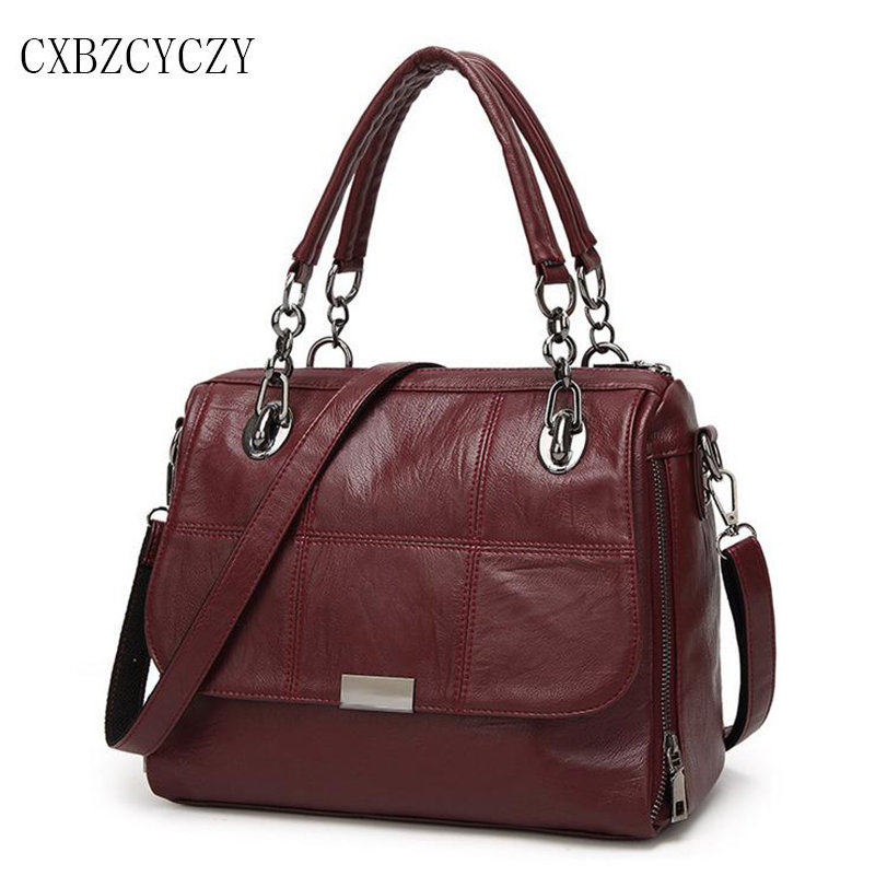 2017 Women Messenger Bags High Quality PU Leather Women s Shoulder Bag Crossbody Bags Casual Famous