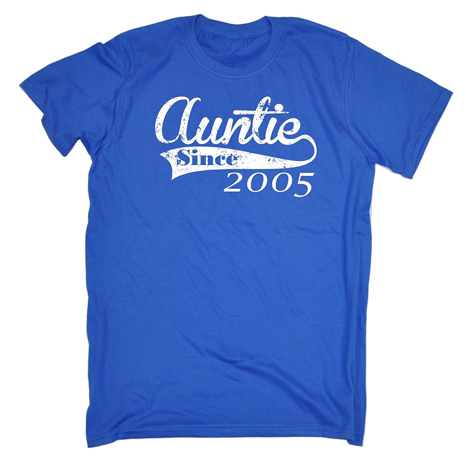Mens Auntie Since ... Any Year T-SHIRT