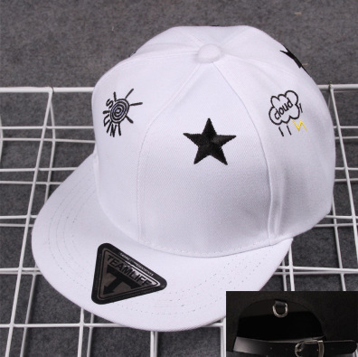 2016 Fashion Cap Men and Women Flat Cap Teamlife Sun Stars Embroidery  Canvas Hip-Hop Cap Baseball Cap C161 f1f2cc38811