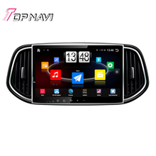 "10.1"" Quad Core Android 4.4 Car PC Stereo GPS For KIA KX3 2015 With Audio Radio Map Mirror Link Without DVD Free Shipping"